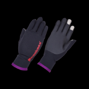 Перчатки Megabass Ti GLOVE col. BLACK x ORANGE