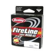 Шнур зимний Berkley Fireline Micro Ice Smoke