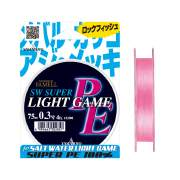 Шнур Yamatoyo PE Light Game Flash Pink