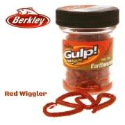 Приманка Berkley Gulp! GEW-RDW EXTRD EARTHWORM RED 4""